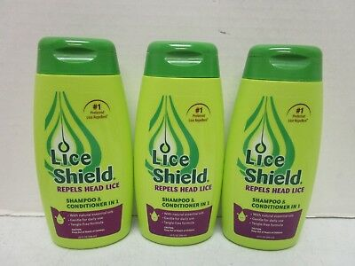 3 Lice Shield Shampoo & Conditioner In 1 - 10 Fl Oz Each Mm 11349
