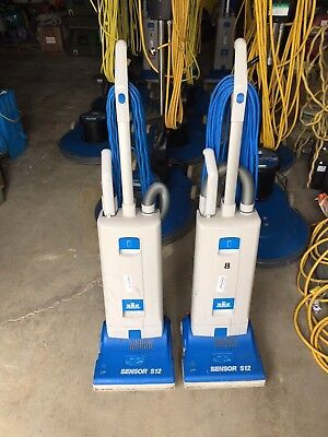 WINDSOR Sensor S12 Commercial Upright Bagged Vacuum Cleaner  Tested & Working