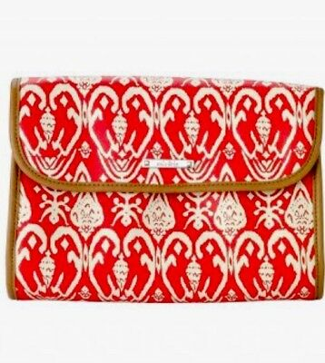 STELLA Dot Bring Your Bling Red iKat Travel Jewelry Hang Case