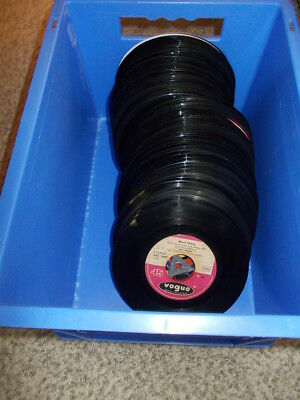 Vinyl Sammlung, Teil 1- 100 Singles ohne Cover, Pop, Easy Listening etc national