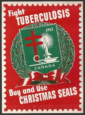 Canada 1952 - Christmas Seals Advertising (160x115 mm)