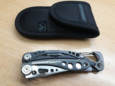 Leatherman  Skeletool Cx, Con Funda De Nilon Nueva