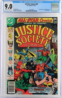 All-Star Comics #69 -NEAR MINT- CGC 9.0 VF/NM - DC 1977 - 1st App of Huntress!!!