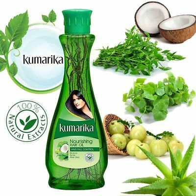 100% Natural Kumarika Ayurveda Herbal Anti Hair Fall Oil for Everyone 100 ml NEW