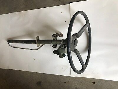 M151 Vehicle Family, Military Jeep, M151A2 Used Column With Used Steering Wheel