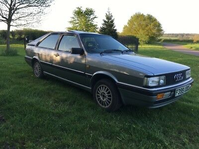 1989 Audi GT Coupe in Silver Grey