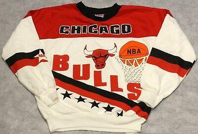 Vintage Chicago Bulls Crew Neck Sweatshirt Rare Find