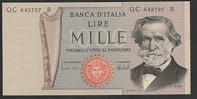 1000 Lire From Italy Unc B1