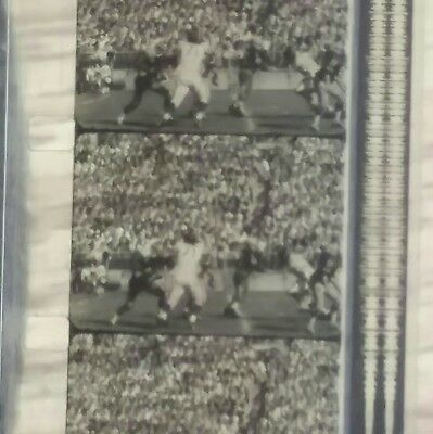"""CHICAGO BEARS Historical 16mm Film 1960s NFL Football Sports 12"""" real reel movie"""