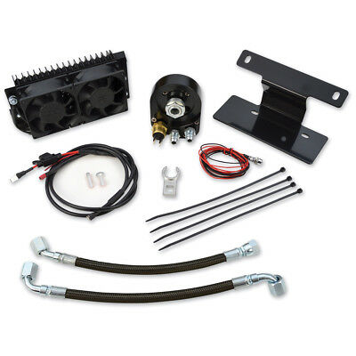 Ultracool 642205 Fan Assisted Oil Cooler System Fits Harley Dyna 1993-2014 Y2