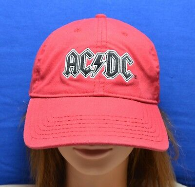 AC/DC Red Baseball Cap - Officially Licensed - Virtis