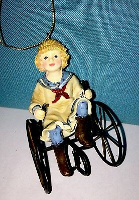 Vintage Victorian Style Girl On 4 Wheel Bike Christmas Ornament