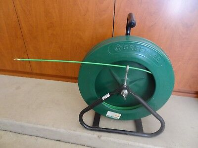 Greenlee 542-200 Fiberglass Fish Tape Wire Puller With Reel Stand