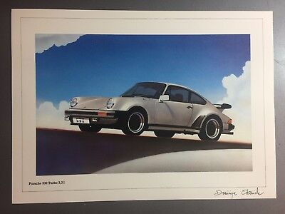 1977 Porsche 930 Turbo Coupe Print, Picture, Poster RARE!! Awesome L@@K