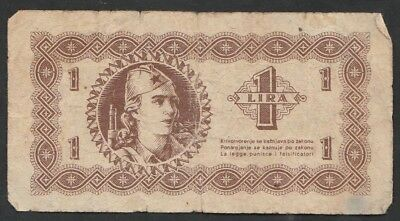 1 Lira From Slovenia 1945 B1