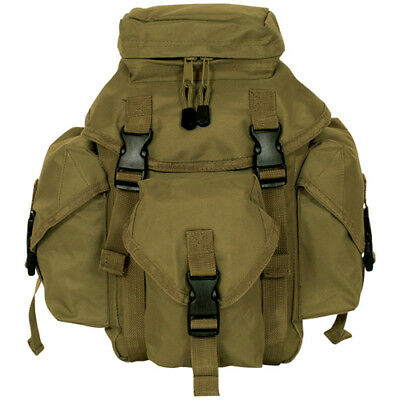 Tactical Military Recon Mission Dual MOLLE / Alice Butt Pack COYOTE