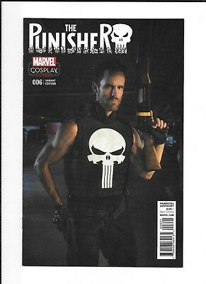 The Punisher #6 Cosplay Variant (Nm) Marvel