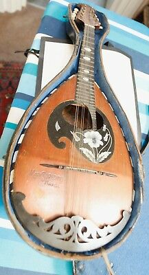 Mandolin Vintage 1880/1890   For repair or for Spares