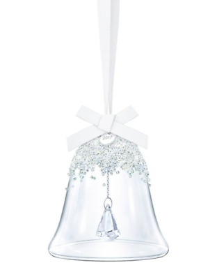 Swarovski Large Crystal Bell Ornament Christmas Annual Edition 2017