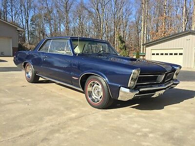 1965 Pontiac GTO 2 dr coupe ebay motors collector cars GTO 1965 4 speed Tri Power