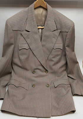 Custom Country Western double lapel suit Nudie's Rodeo Taylors North Hollywood