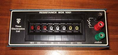 Time Electronics Model 1051 Resistance Decade Box 0.01 Ohm to 1M Ohm