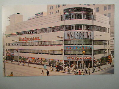 Walgreens  Downtown Miami Fl. Postcard 4B37