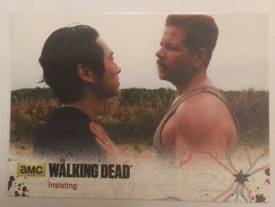 #44 Insisting Card The Walking Dead Season 4 Part 2