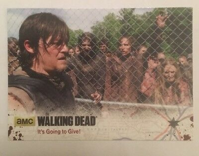 #17 It's Going To Give! Card The Walking Dead Season 4 Part 2