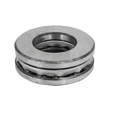 H● 40mm Inner Dia Axial Ball Single Thrust Bearing Silver Gray 51308