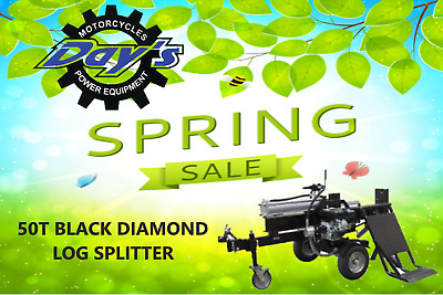 50 T Log Splitter,  Hydraulic Lifting Table -Prices Slashed