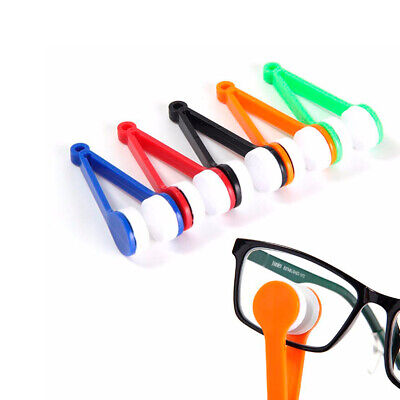 Speck-Free Spectacles Glasses Cleaner Keyring Random Colours BPA Free ABS