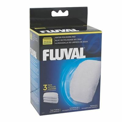 Fluval Polishing Pad for 104/5/6 - 204/5/6 (3 Pack) *Genuine* Filter Media