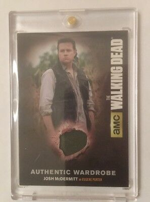 M51 Josh Mcdermitt as Eugene Authentic Wardrobe Card The Walking Dead Season 4/2