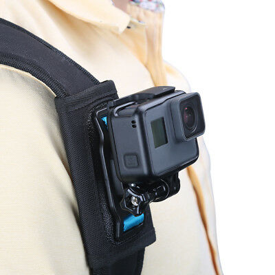 Quick Release Strap Mount Shoulder Backpack Mount For GoPro Hero 6 5 4 3+Camera