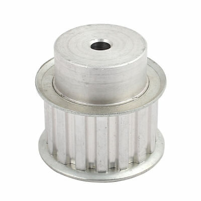 H● L16 16 Tooth 8mm Bore Dia Aluminum Alloy Timing Pulley 54mm x 48mm