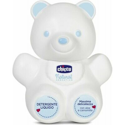CHICCO Natural Sensation Liquid Cleansing Bear 300 ml