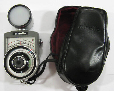 Minolta Color Temperature Meter Analog