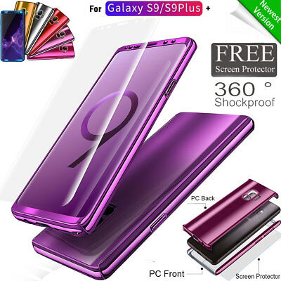 360 Mirror Protective Shockproof Case Slim Cover For Samsung Galaxy S9 Plus S9+