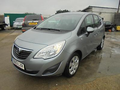 Damaged Repairable 2013 Vauxhall Meriva 1.4 16V 120Ps Turbo Petrol Exclusive