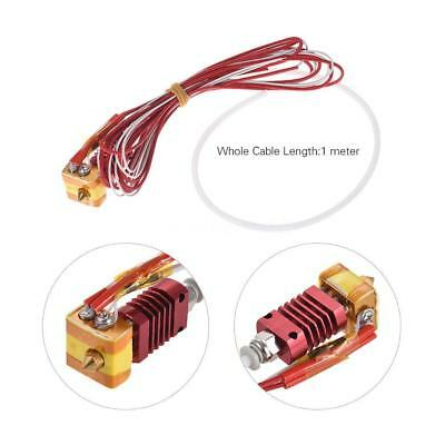 MK10 Extruder Hot End Kit Set 1.75mm 0.4mm Nozzle for Creality 3D CR-7 10