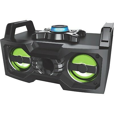 Large Bluetooth Party Speaker Wireless Portable Rechargeable Aux USB LED Lights
