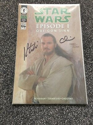 Star Wars Episode 1 Signed with COA