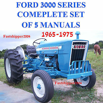 Ford 3000 series tractor service parts catalog owners manual 5 ford 3000 series tractor service parts catalog owners manual 5 manuals 65 fandeluxe Choice Image