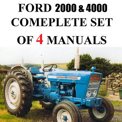 Ford 4000 2000 series tractor service parts catalog owners manual ford 4000 2000 series tractor service parts catalog owners manual 4 manuals cd fandeluxe