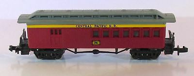 N Scale Bachmann Central Pacific Old Time Coach #8 In Original Box