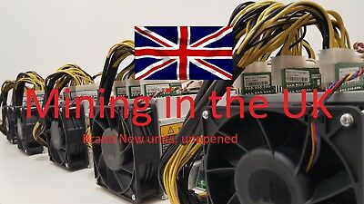 2 x Antminer S9 14TH/s with power supply brand new, collect or post 2 units