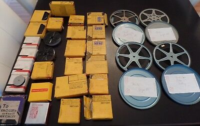 Large Lot Vintage 8mm Movies - 1940's, 1950's, 1960's