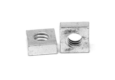 "5/16""-18 Coarse Thread Square Machine Screw Nut Zinc Plated"