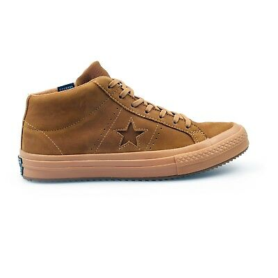 CONVERSE ONE STAR Mid Counter Climate Brown Nubuck Mens